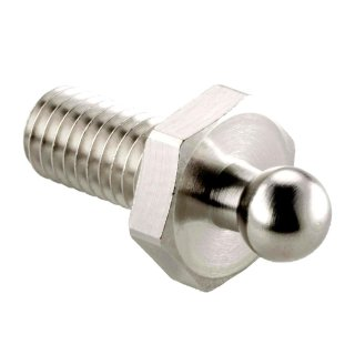 LOXX® Schraube Ms.vern.M5x10mm + Muttern Edelstahl (4 Stück)