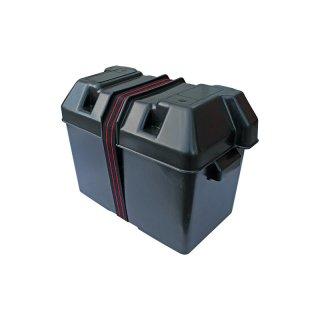 Batteriekasten schwarz mit Haltegurt