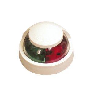 Navigationslicht Power 7 zweifarbig horizontal 225° weiße Abdeckung