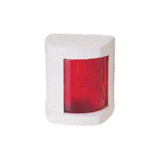 Navigationslicht Classic 12, Backbord rot 112,5°, weiße Abdeckung
