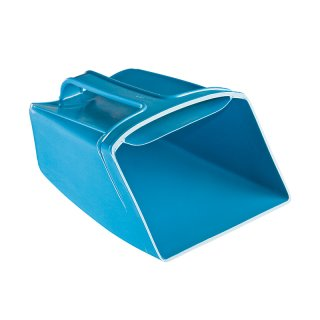Schwimmende, flexible Schaufel, 190 x 135mm, blau