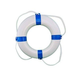 Rettungsring weiß / blau 57 x 34 cm